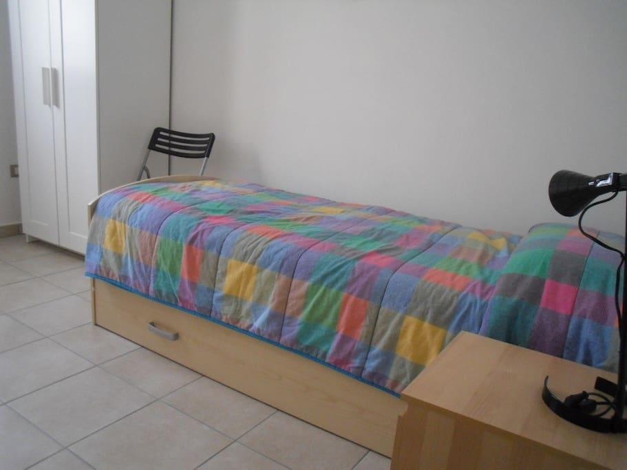 camera un letto + eventuale letto