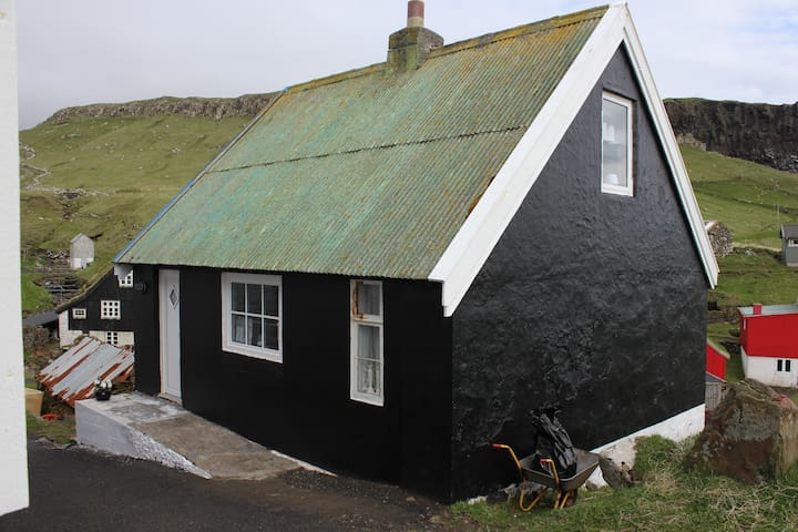 Charming old house in Mykines