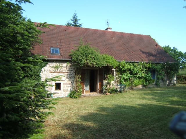 Gîte en Bourgogne sud - Sigy-le-Châtel - Dům
