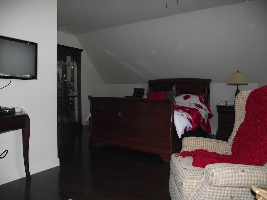 Le petit salon dans la chambre