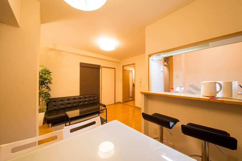 1min to shijo st 4min to shijo sta kyoto cozy for Living room of satoshi