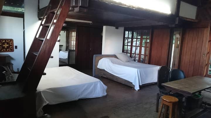 Casa Arborizada  REVEILON DISPONIVEL MINIMO 8 DIAS
