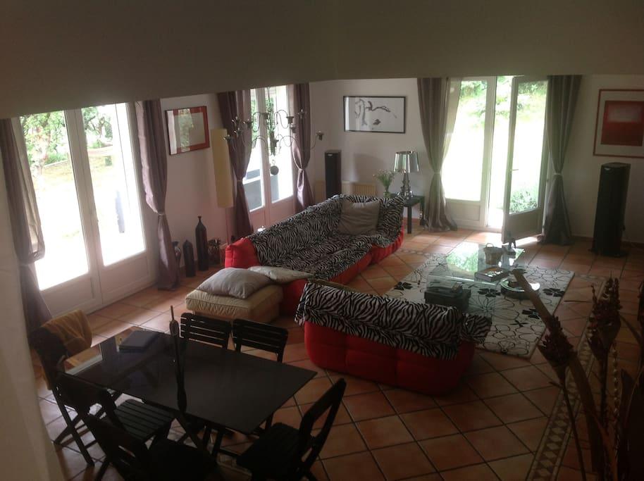 salon séjour de 40 m²