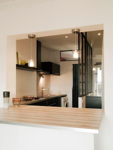 Appartement Paris lumineux - Paris - Apartment