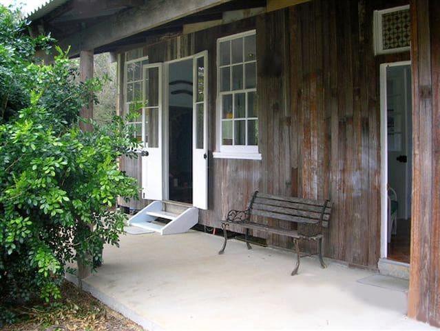 The veranda overlooks Mt Pinbarren and nature on the doorstep