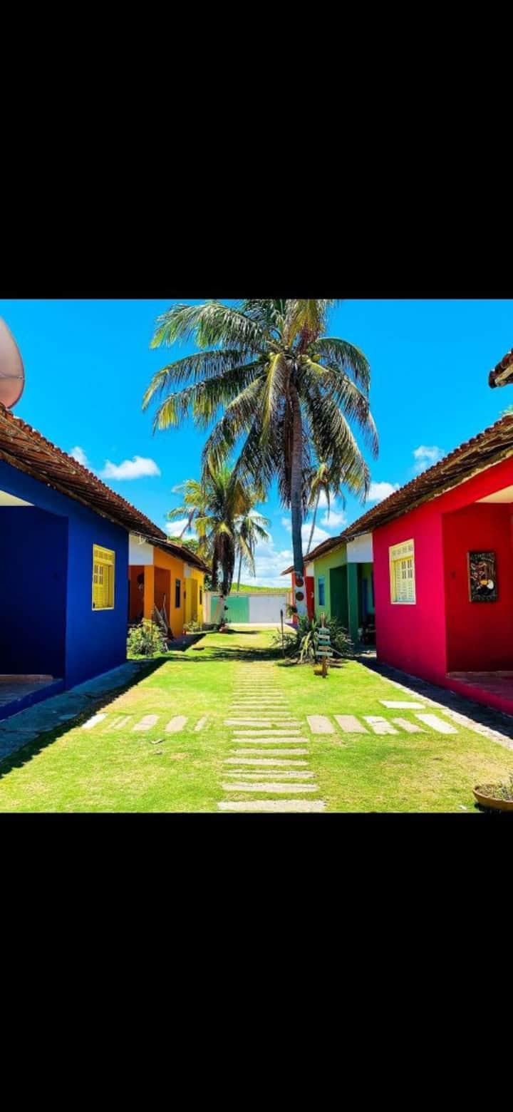Condomínio de Casas na linda praia de Alcobaça/Ba