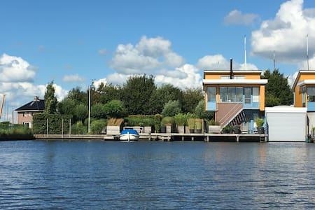 Fantastisch vakantiehuis in Heeg aan Heegermeer - Heeg - Huvila