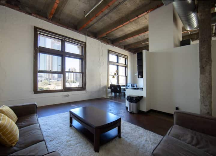Spacious 1BR LA Penthouse in the Heart of LA