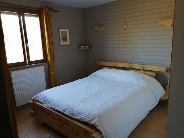 Chambre privée : chalet au calme dans les Vosges