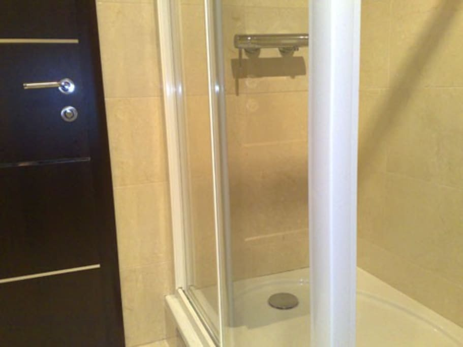 Luxury bathroom with shower