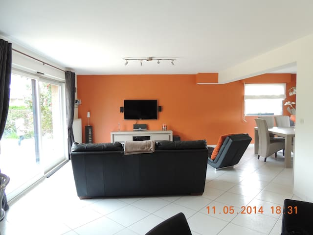 Jolie maison contemporaine  130 m2  - Sequedin - Huis