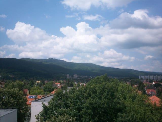 Kilátással a Diósgyőri várra - Miskolc - Apartamento