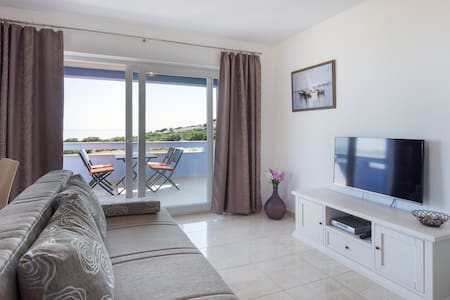 apartm (2+2) for relaxing holiday 2 - Stara Baška - Lägenhet