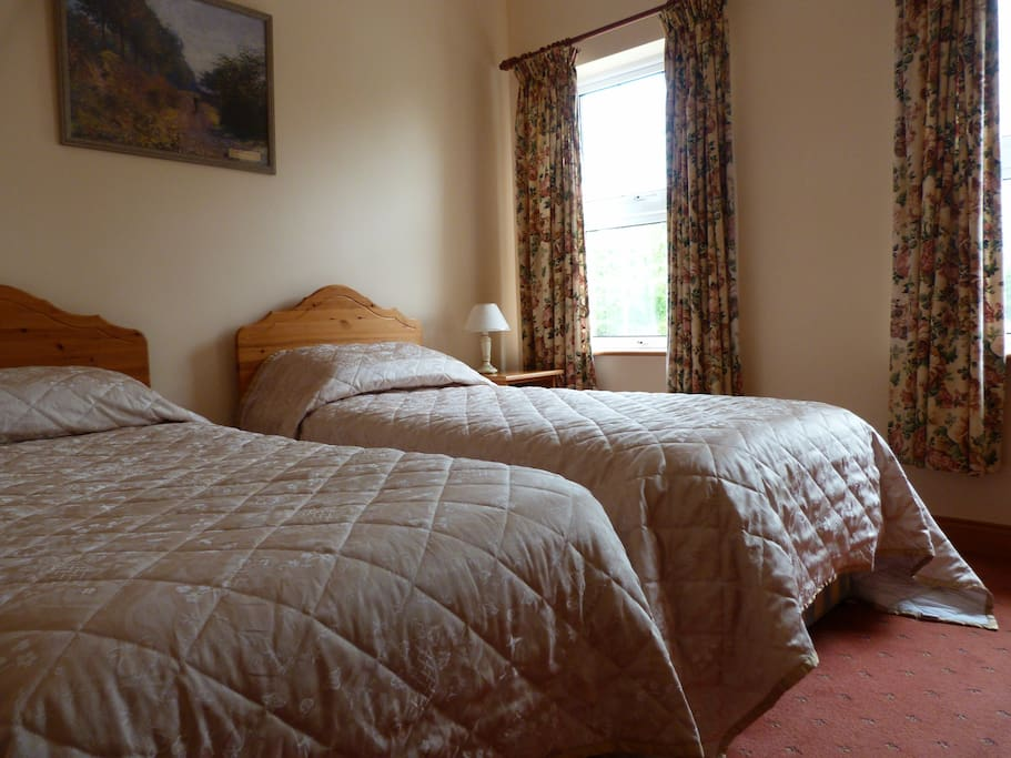 Twin Room, ensuite with TV