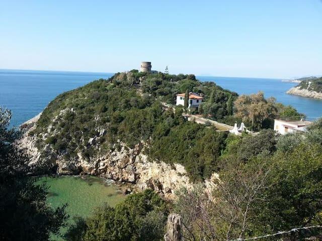 Casa sul mare spiaggia Ariana - Gaeta - Ev