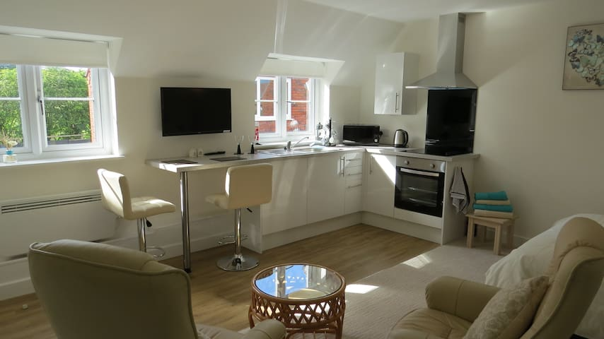 Meadow Wood Studio Apartment - Pershore - Pis