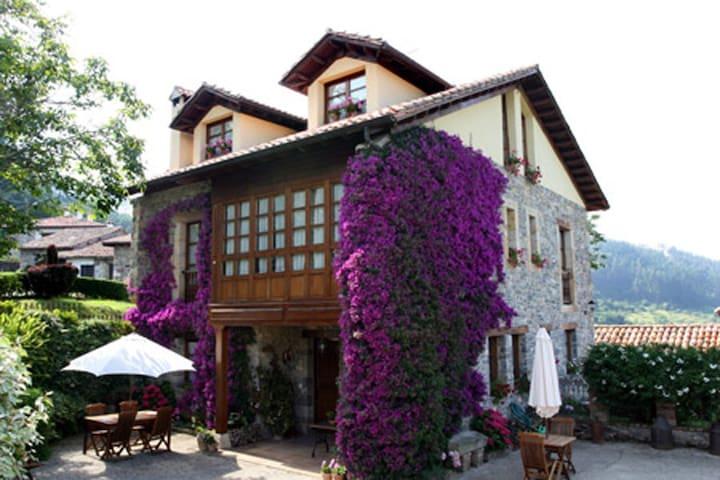 Trisqueles y buganvillas (10-18pax) - Miravalles (Villaviciosa) - House