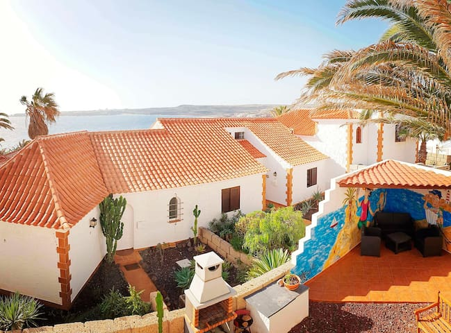 Bahia B: holiday house with two bedrooms and 300 m from the beach