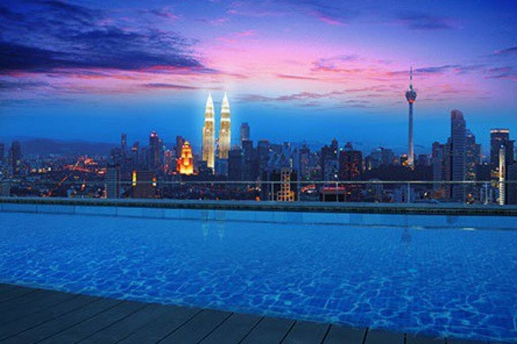 3 Rooftop Infinity Pool Kl View Apartments For Rent In Kuala Lumpur Federal Territory Of