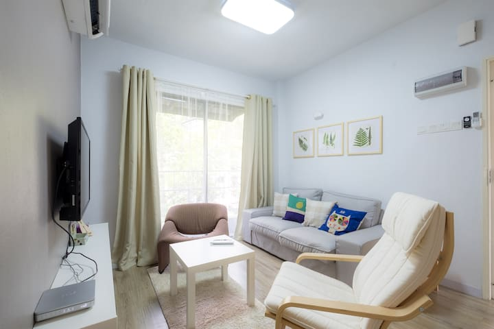 Simple Nordic quiet 3 BR Apt, 2 Bath,1 Carpark - Bayan Lepas - Wohnung