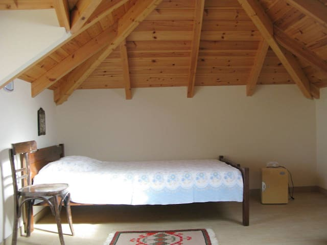 House 2: Comfortable experience of sleeping in the attic