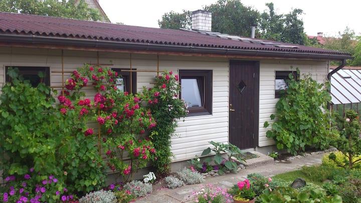 A humble guesthouse near the beach & town center