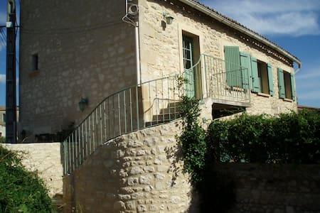 Gite on 1st floor of village house - Maison