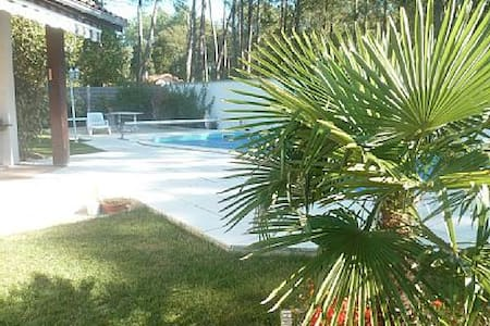 Luxury villa with pool, 3km ocean - Saint-Julien-en-Born