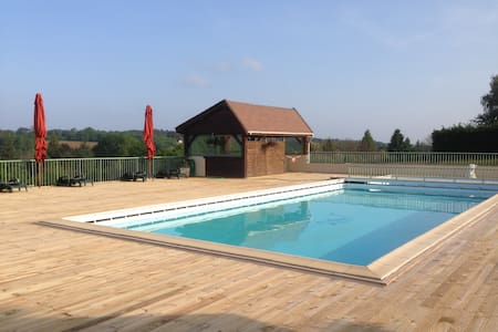 Studio avec piscine proche Sarlat - Saint-Geniès