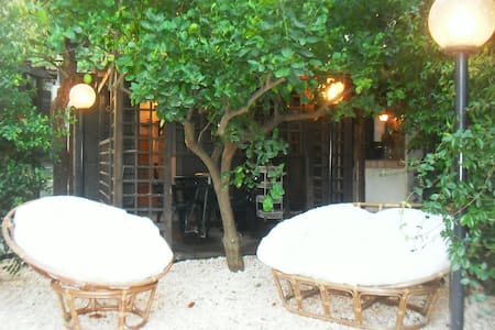 Chalet a Linguaglossa, tra Etna e mare, giardino - Piedimonte etneo - Cabaña