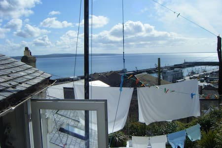 Quiet Double Room, Stunning View - Newlyn