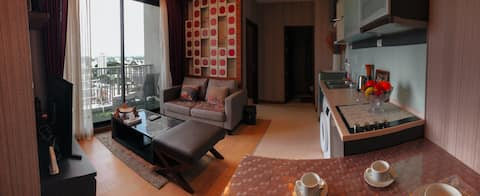 Stylish High Floor 60SQM 2 BR Apt City The Astra