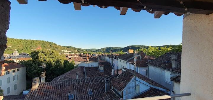 Appartement d'exception au cœur de Cahors