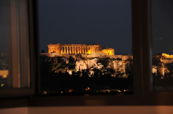 Acropolis at Home:Loft with a View - Athina - Apartamento