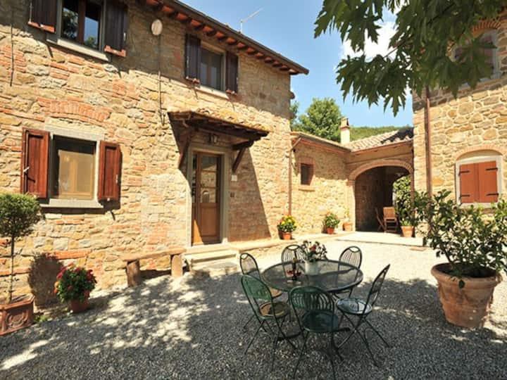 Tuscan Charm of Cottage Roccaio Cortona