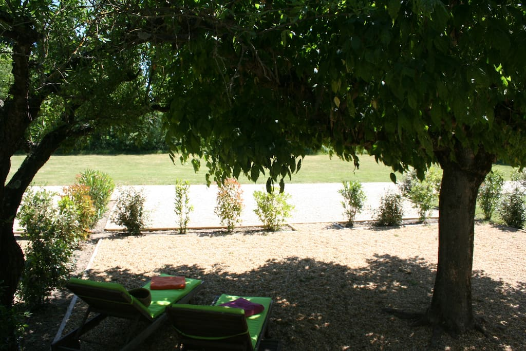 Jardin au calme