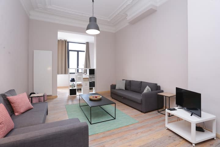 Brand and new cosy loft in Brussels - EU district