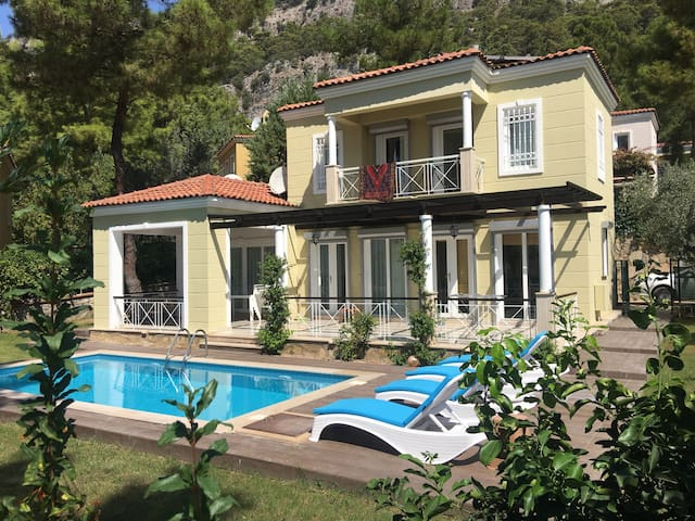 Detached villa with forest and sea view - Gocek - Villa