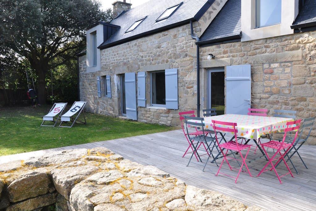 penty breton charme et cosy 8 10p maisons louer saint philibert bretagne france. Black Bedroom Furniture Sets. Home Design Ideas