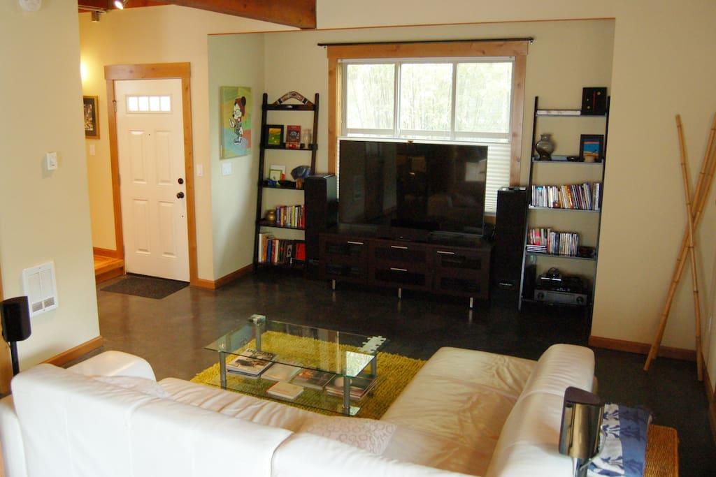 Living Room & Entertainment Center
