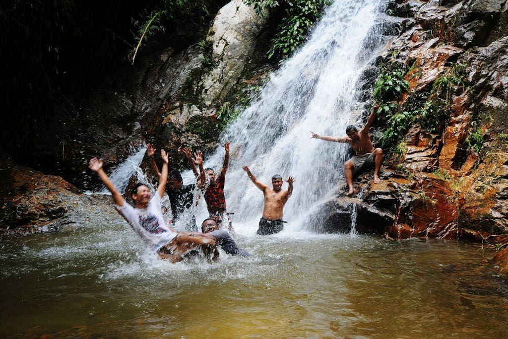 Visit one of the numerous waterfalls