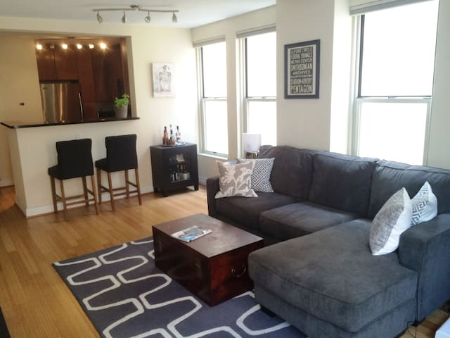Cute One Bedroom Apt in City Center w/ rooftop! - Washington - Daire