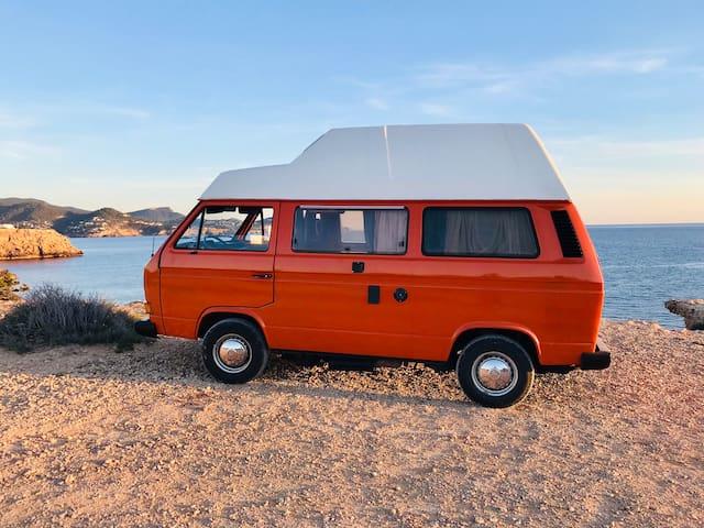Ibiza Hippie Van VW T3 Franxu