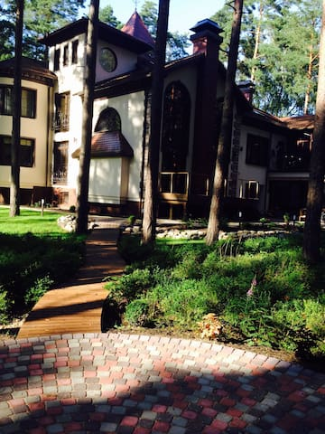 Шикарный особняк в центре Юрмалы.