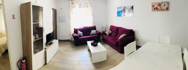 Apartamento acogedor y con encanto!