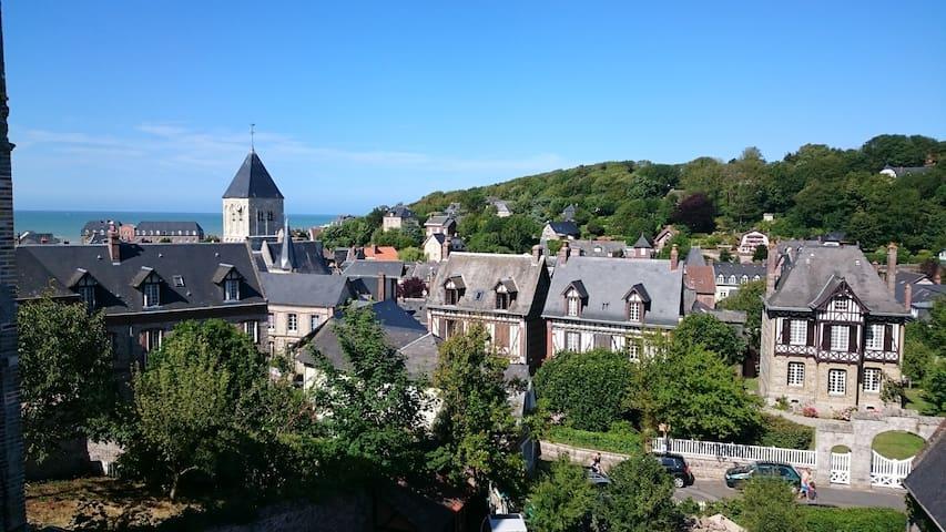 Maison neuve vue mer et village - Veules-les-Roses - Casa