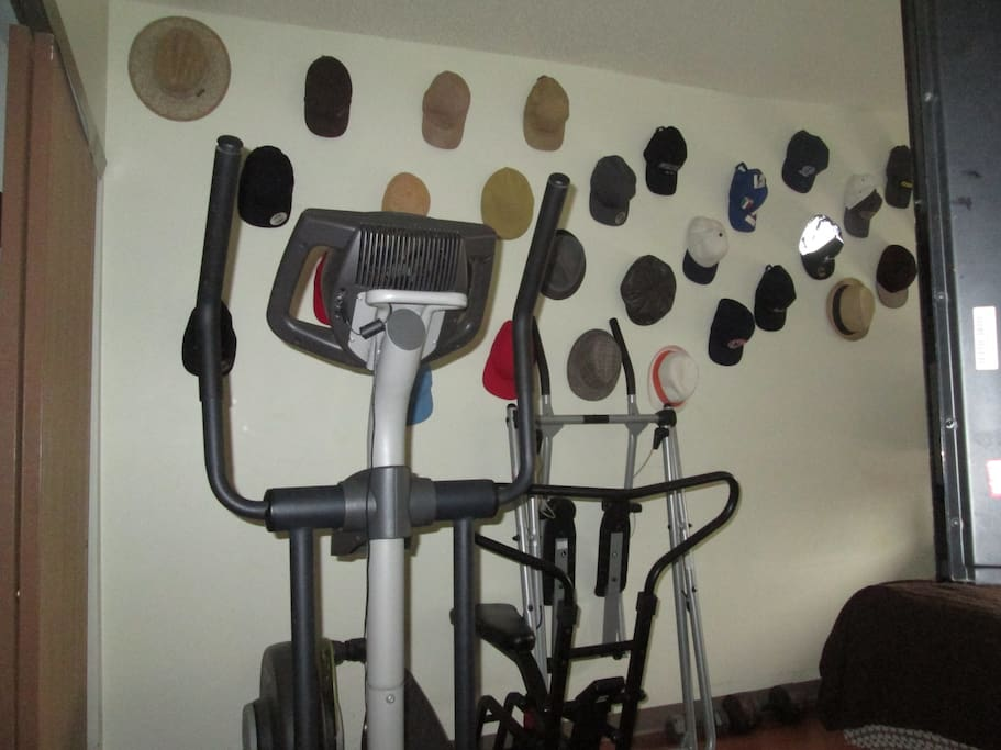 A FEW EXERCISE MACHINES