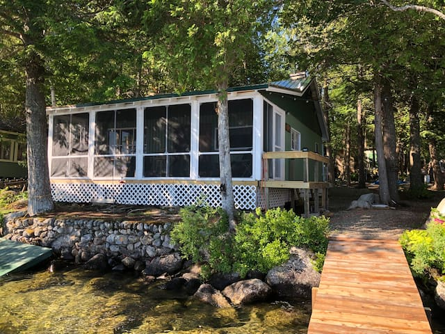 Rustic Lakefront Cabin on Beech Hill Pond