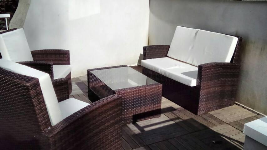 Charmant duplex avec toit terrasse - Nantes - Apartment