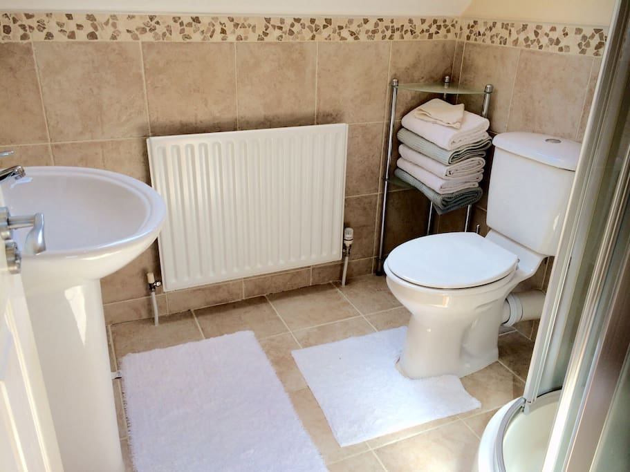 Ensuite shower & WC
